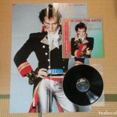 Discos de vinilo: VINILO EDICIÓN JAPONESA DEL LP DE ADAM AND THE ANTS - PRINCE CHARMING. Lote 218913402