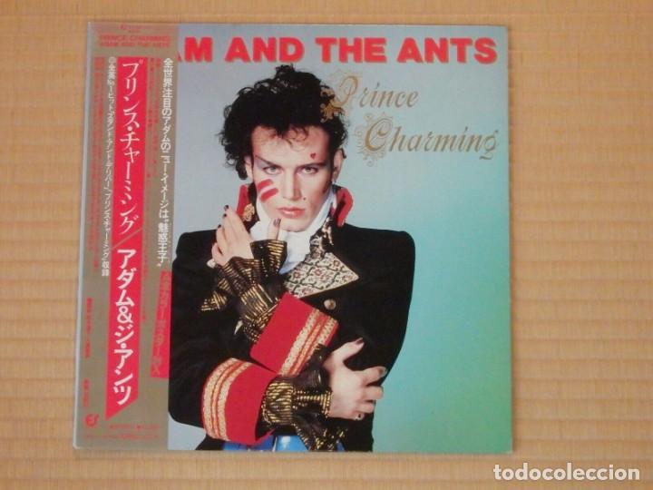Discos de vinilo: VINILO EDICIÓN JAPONESA DEL LP DE ADAM AND THE ANTS - PRINCE CHARMING - Foto 2 - 218913402