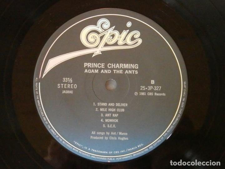 Discos de vinilo: VINILO EDICIÓN JAPONESA DEL LP DE ADAM AND THE ANTS - PRINCE CHARMING - Foto 8 - 218913402