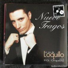 Discos de vinilo: LOQUILLO - NUEVE TRAGOS (1999) - LP + CD REEDICIÓN DRO 2016 NUEVO. Lote 218913585