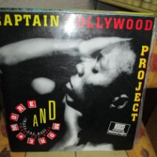 Discos de vinilo: CAPTAIN HOLLYWOOD PROJECT ?– MORE AND MORE. Lote 218914460