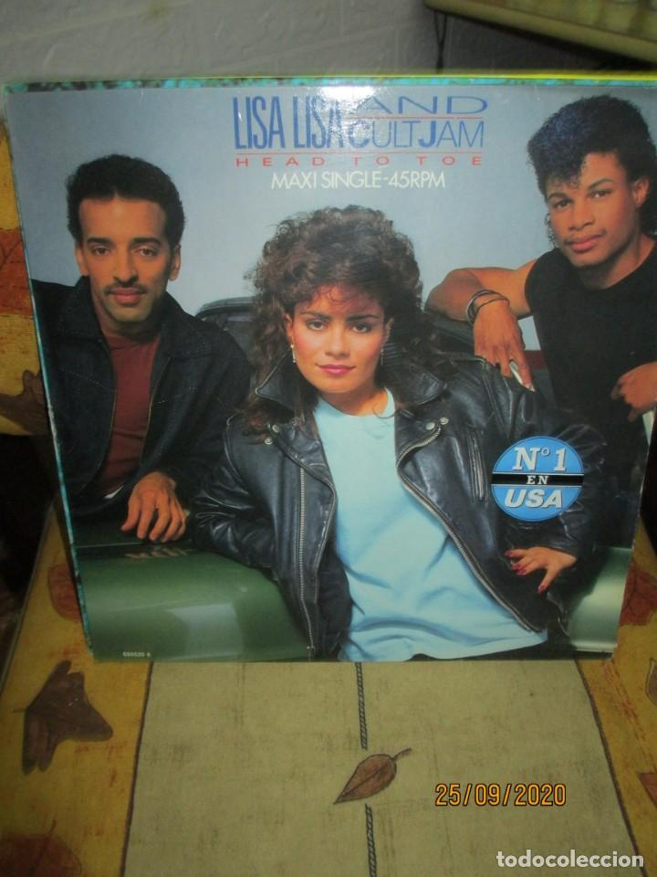 LISA LISA AND CULT JAM* ?– HEAD TO TOE (Música - Discos de Vinilo - Maxi Singles - Rap / Hip Hop)