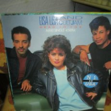 Discos de vinilo: LISA LISA AND CULT JAM* ?– HEAD TO TOE. Lote 218915113