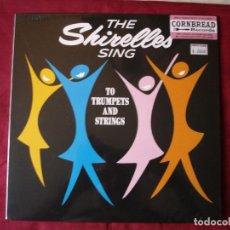 Discos de vinilo: THE SHIRELLES - SING TO TRUMPETS AND STRINGS. LP VINILO. NUEVO. PRECINTADO.. Lote 218927962