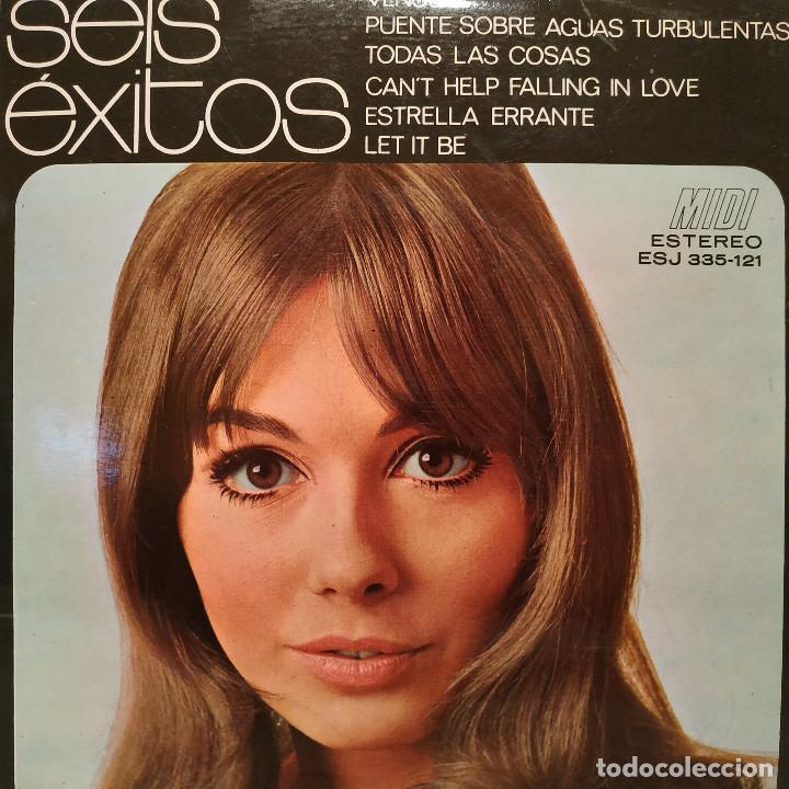 6 EXITOS - MINI-ALBUM MIDI 7'' A 33 RPM (6 TEMAS) DISTRIBUCIÓN FIDIAS AÑO 1971 TEMAS EN LAS FOTOS EX (Música - Discos de Vinilo - EPs - Grupos Españoles de los 70 y 80)