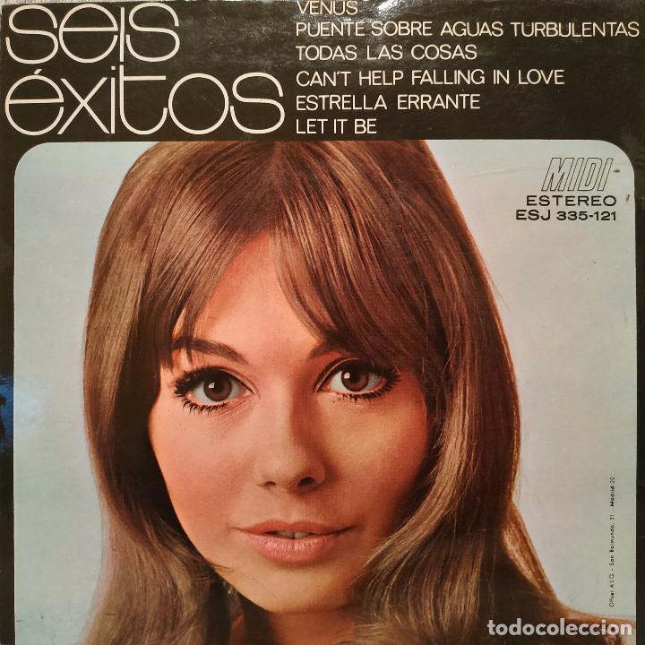 Discos de vinilo: 6 Exitos - Mini-Album Midi 7 a 33 rpm (6 temas) Distribución Fidias Año 1971 Temas en las fotos EX - Foto 2 - 218931142