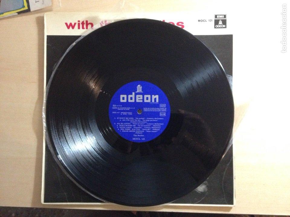Discos de vinilo: !!! THE BEATLES !!! 3a EDICIÓN WITH THE BEATLES - Foto 5 - 58543741