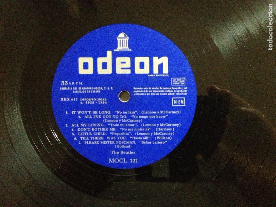 Discos de vinilo: !!! THE BEATLES !!! 3a EDICIÓN WITH THE BEATLES - Foto 6 - 58543741