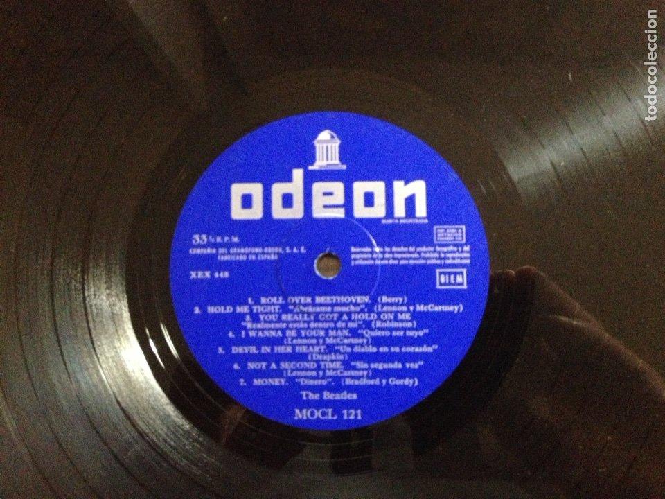 Discos de vinilo: !!! THE BEATLES !!! 3a EDICIÓN WITH THE BEATLES - Foto 8 - 58543741