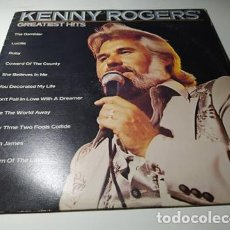 Discos de vinilo: LP - KENNY ROGERS ?– GREATEST HITS - LOO 1072 (VG+ / VG) CANADA 1980. Lote 218933740