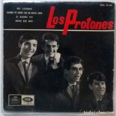 Discos de vinilo: PROTONES. MIS LÁGRIMAS/ CUANDO YO SUEÑO CON UN NUEVO AMOR/ SI ALGUNA VEZ/ DESDE QUE NACÍ. EMI-REGAL,. Lote 218936537