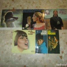 Discos de vinilo: LOTE DISCOS LPS , ANA BELEN, MD PRADERA, BETTY MISSIEGO,MIREILLE MATHIEU, EYDIE GORME, LOS PANCHOS. Lote 218938135