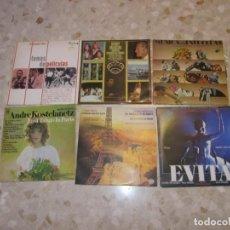 Discos de vinilo: LOTE DISCOS LPS MUSICA DE CINE Y DE PELICULAS,HENRY MANCINI,ZUK MILTON, ANDRE KOSTELANETZ. Lote 218938486