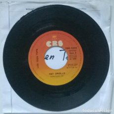 Discos de vinilo: LOS TEEN TOPS. REY CRIOLLO/ LA PLAGA. CBS, SPAIN 1977 SINGLE. Lote 218939488