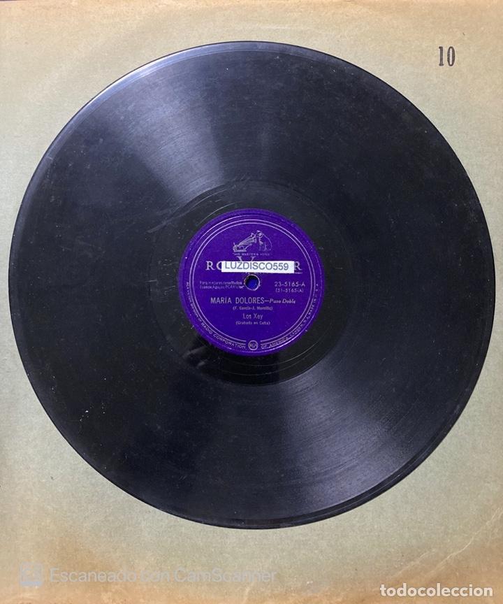 Discos de vinilo: LA HABANA / MARIA DOLORES. LOS XEY. GRABADO EN CUBA. RCA VICTOR. - Foto 2 - 218939642