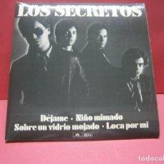 Discos de vinilo: LOS SECRETOS-DEJAME- AÑO 1980 SERIE NUMERADA (Nº2810). Lote 218946176