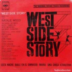 Discos de vinilo: WEST SIDE STORY. ESTA NOCHE + 3. EP ESPAÑA 1962. BANDA SONORA ORIGINAL. Lote 218949357