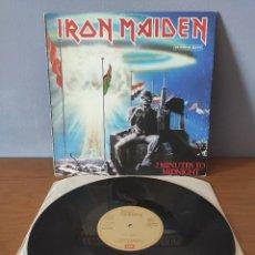 Discos de vinilo: IRON MAIDEN - 2 MINUTES TO MIDNIGHT. Lote 218950263