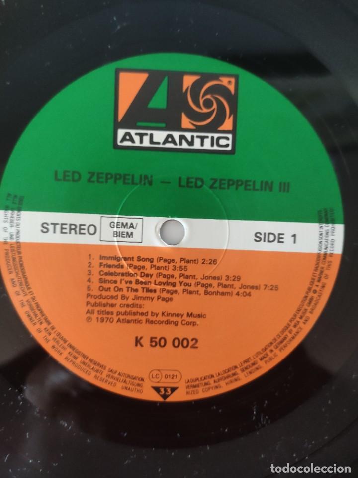 Discos de vinilo: LED ZEPPELIN III - Foto 2 - 218950452