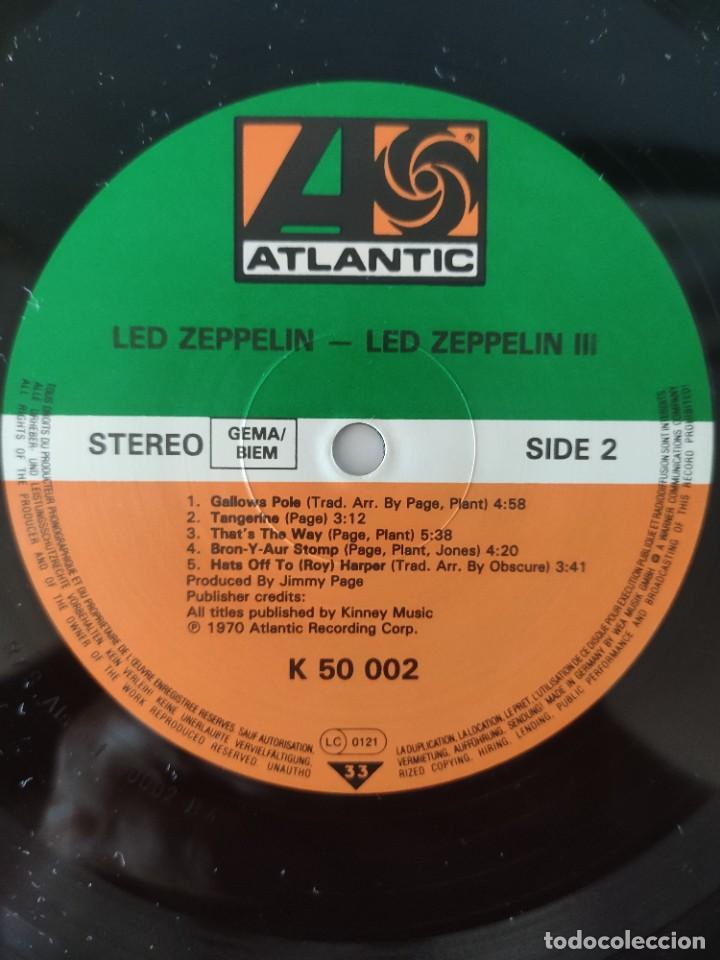 Discos de vinilo: LED ZEPPELIN III - Foto 4 - 218950452