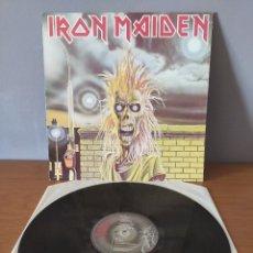 Disques de vinyle: IRON MAIDEN - IRON MAIDEN. Lote 218950866