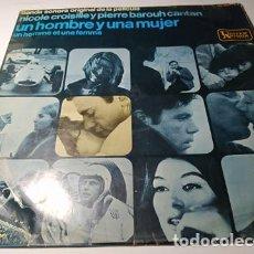 Discos de vinilo: LP - FRANCIS LAI ?– UN HOMBRE Y UNA MUJER - HU 061-44 (G / G+) SPAIN 1966 ( MUCHOS CHISPAZOS ). Lote 218954725