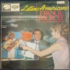 Discos de vinilo: FRANCK POURCEL Y SU GRAN ORQUESTA - LATINO AMERICANO / LP DE 1965 / MUY BUEN ESTADO RF-8669. Lote 218955260