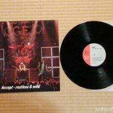 Disques de vinyle: VINILO EDICIÓN JAPONESA DEL LP DE ACCEPT RESTLESS AND WILD. Lote 218956887