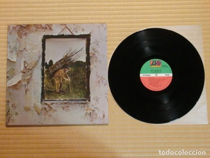 VINILO EDICIÓN JAPONESA DEL LP DE LED ZEPPELIN IV ¡ LEER DESCRIPCIÓN ¡ (Música - Discos - LP Vinilo - Pop - Rock - Extranjero de los 70)