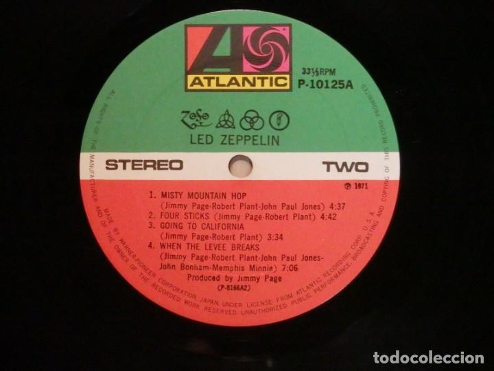 Discos de vinilo: VINILO EDICIÓN JAPONESA DEL LP DE LED ZEPPELIN IV ¡ LEER DESCRIPCIÓN ¡ - Foto 7 - 218957593