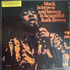 Discos de vinilo: RUTH BROWN BLACK IS BROWN AND BROWN R'N'B FUNK SOUL JAZZ VAMPISOUL ESPAÑA 2005 NM. Lote 218962607