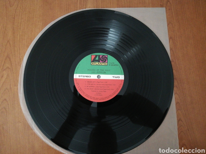 Discos de vinilo: VINILO EDICIÓN JAPONESA DEL LP DE LED ZEPPELIN HOUSES OF THE HOLY - Foto 7 - 218963852