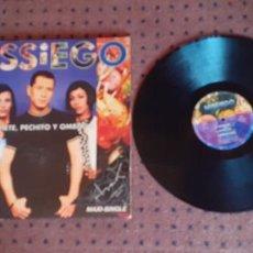 Discos de vinil: MISSIEGO - CACHETE PECHITO Y OMBLIGO - MAXI - SPAIN - MERCURY - LV -. Lote 218964226