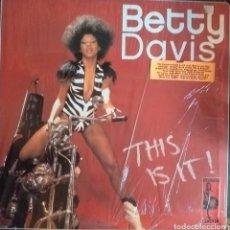Discos de vinilo: BETTY DAVIS THIS IS IT FUNK SOUL DOBLE LP VAMPISOUL ESPAÑA 2007 NM. Lote 218964810