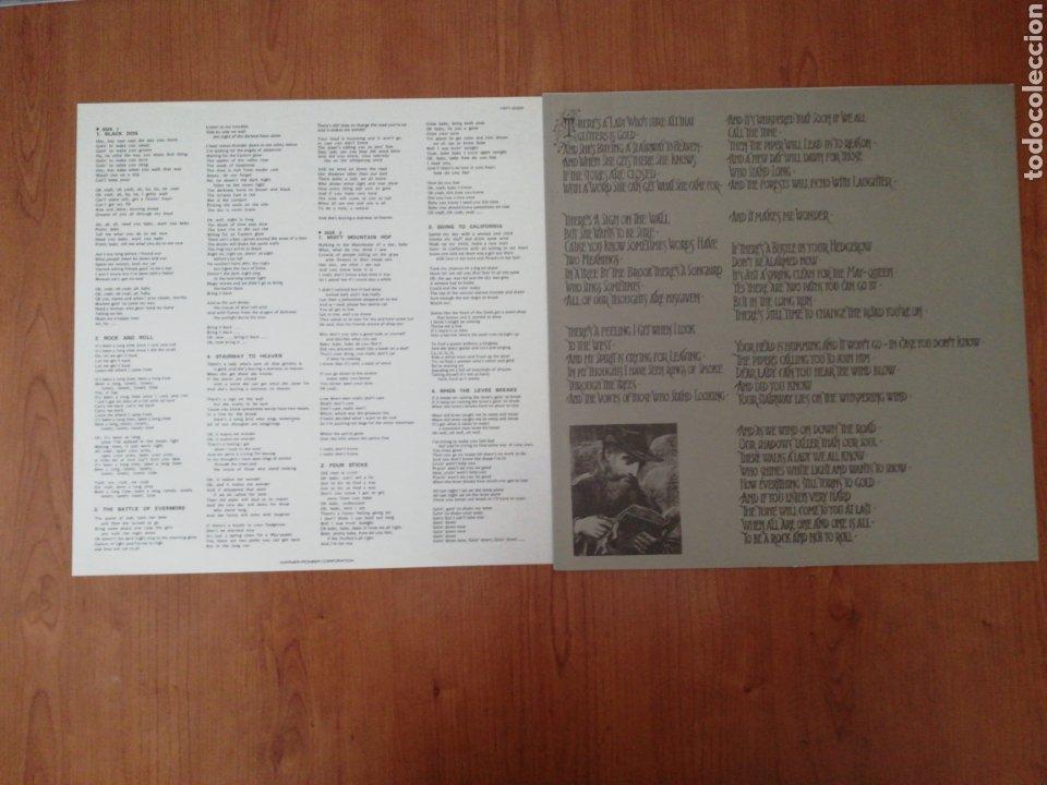 Discos de vinilo: VINILO EDICIÓN JAPONESA DEL LP DE LED ZEPPELIN IV - Foto 6 - 218965412