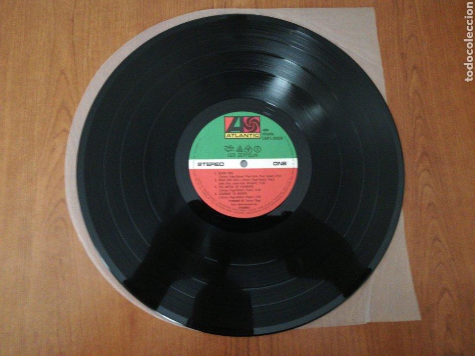 Discos de vinilo: VINILO EDICIÓN JAPONESA DEL LP DE LED ZEPPELIN IV - Foto 7 - 218965412