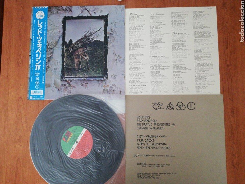 VINILO EDICIÓN JAPONESA DEL LP DE LED ZEPPELIN IV (Música - Discos - LP Vinilo - Pop - Rock - Extranjero de los 70)