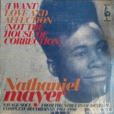 Discos de vinilo: NATHANIEL MAYER LOVE AND AFECTION DOO WOP R'N'B FUNK SOUL DOBLE LP VAMPISOUL ESPAÑA 2006 NM. Lote 218965872