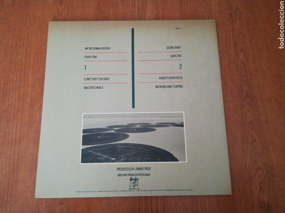 Discos de vinilo: VINILO EDICIÓN JAPONESA DEL LP DE LED ZEPPELIN CODA - Foto 4 - 218966540