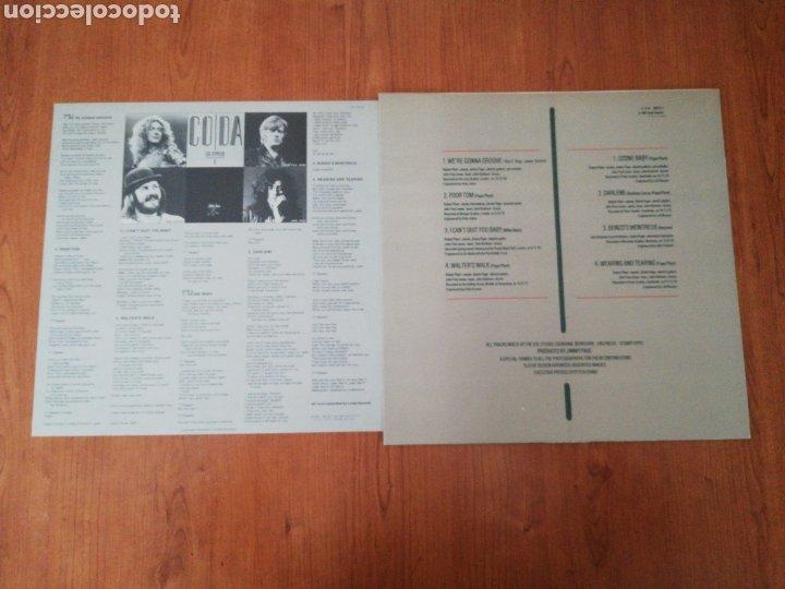 Discos de vinilo: VINILO EDICIÓN JAPONESA DEL LP DE LED ZEPPELIN CODA - Foto 5 - 218966540