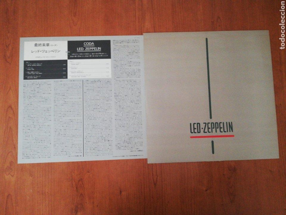 Discos de vinilo: VINILO EDICIÓN JAPONESA DEL LP DE LED ZEPPELIN CODA - Foto 6 - 218966540
