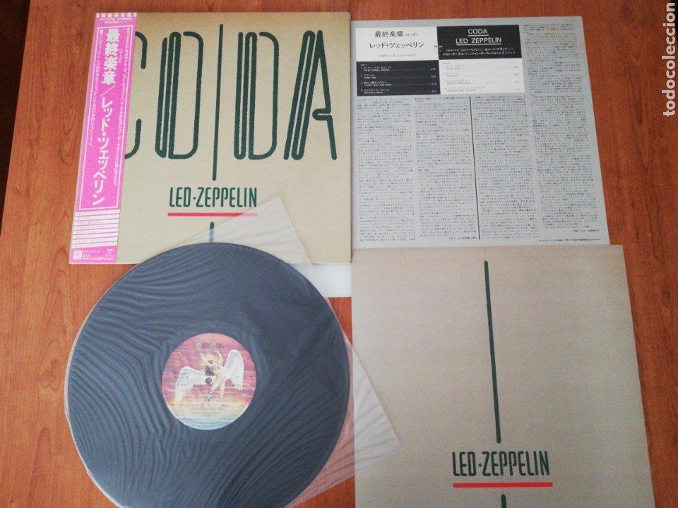 VINILO EDICIÓN JAPONESA DEL LP DE LED ZEPPELIN CODA (Música - Discos - LP Vinilo - Pop - Rock - Internacional de los 70)