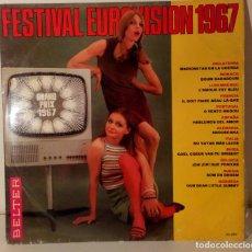 Discos de vinilo: FESTIVAL EUROVISION 1967. Lote 218967445