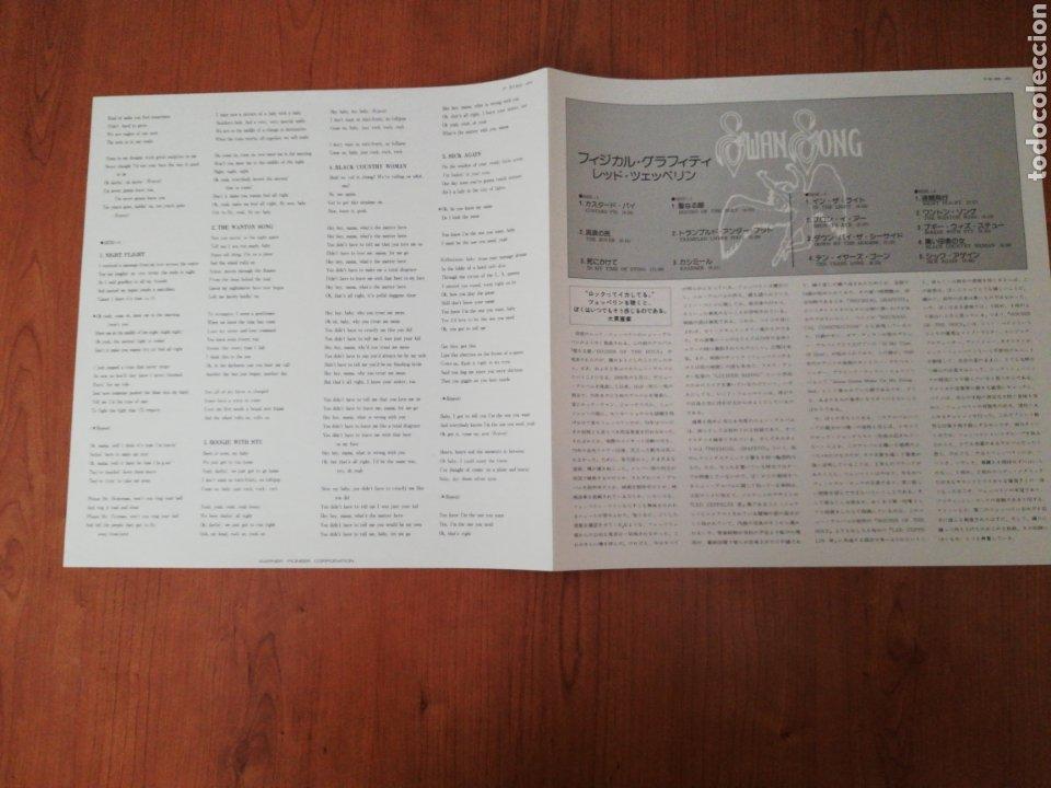 Discos de vinilo: DOBLE VINILO EDICIÓN JAPONESA DEL LP DE LED ZEPPELIN PHISICAL GRAFFITI - Foto 8 - 218967632