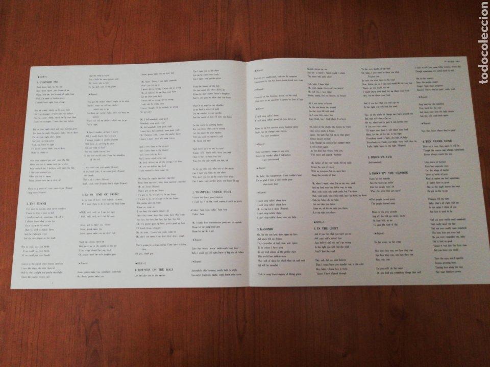 Discos de vinilo: DOBLE VINILO EDICIÓN JAPONESA DEL LP DE LED ZEPPELIN PHISICAL GRAFFITI - Foto 9 - 218967632