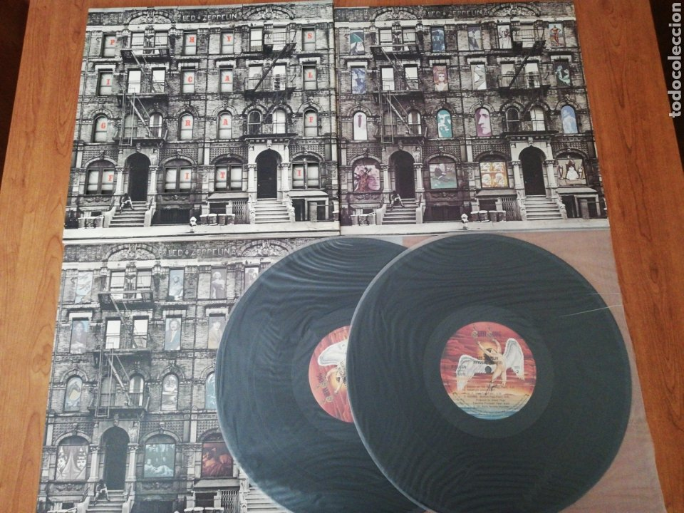 DOBLE VINILO EDICIÓN JAPONESA DEL LP DE LED ZEPPELIN PHISICAL GRAFFITI (Música - Discos - LP Vinilo - Pop - Rock - Extranjero de los 70)