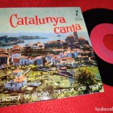 Discos de vinilo: POLIFONICA GERONA GIRONA DIR;JOSE VIADER SARDANA MONGES/SOMNI/L'EMPORDA +1 EP 1961 CATALA CATALUNYA. Lote 218968182