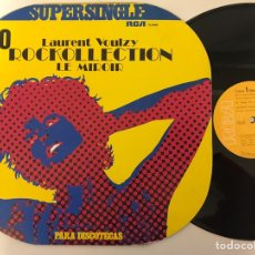 Discos de vinilo: LAURENT VOULZY ROCKCOLLECTION/ LE MIROIR. Lote 218969883