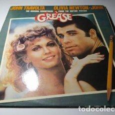 Discos de vinilo: LP - VARIOUS ?– GREASE ( B.S.O) - 26 58 125 - 2LP - CARPETA (VG+ / VG+) SPAIN 1978. Lote 218980227