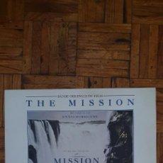 "Discos de vinilo: ENNIO MORRICONE – BANDE ORIGINALE DU FILM ""THE MISSION"" SELLO: VIRGIN – 70468 FORMATO: VINYL, LP. Lote 218986387"